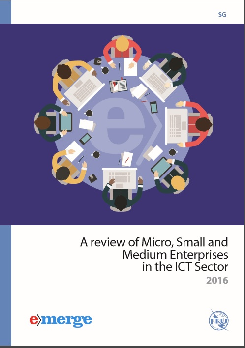 Portada del documento a review of Micro Small and Medium Enterprises in the ICT Sector