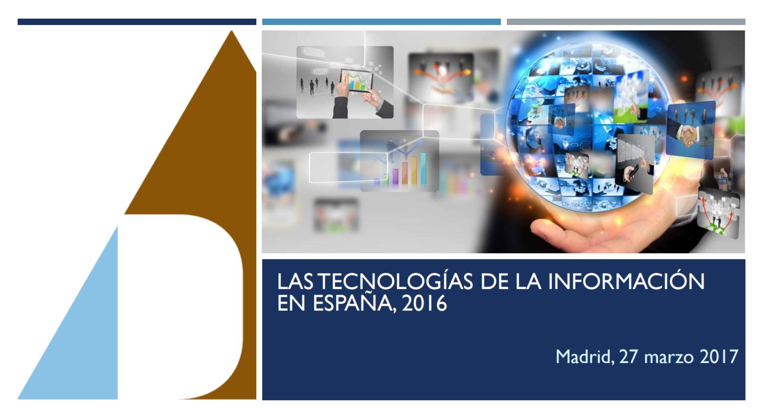 portada las TIC en España 2016