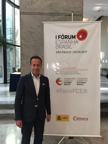 Odilo en el Forum España Brasil