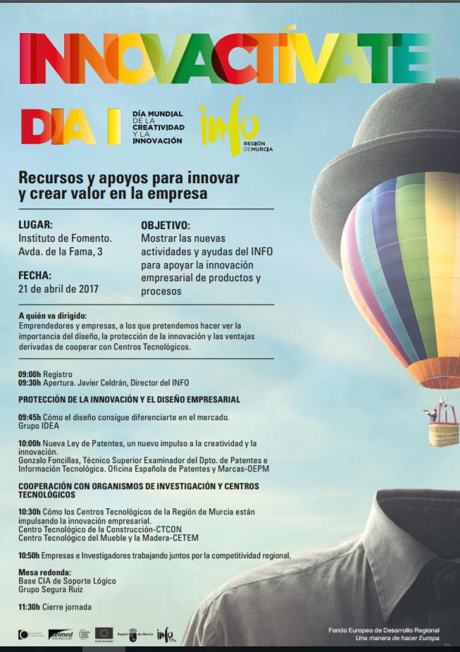 programa jornada patentes dia innovacion