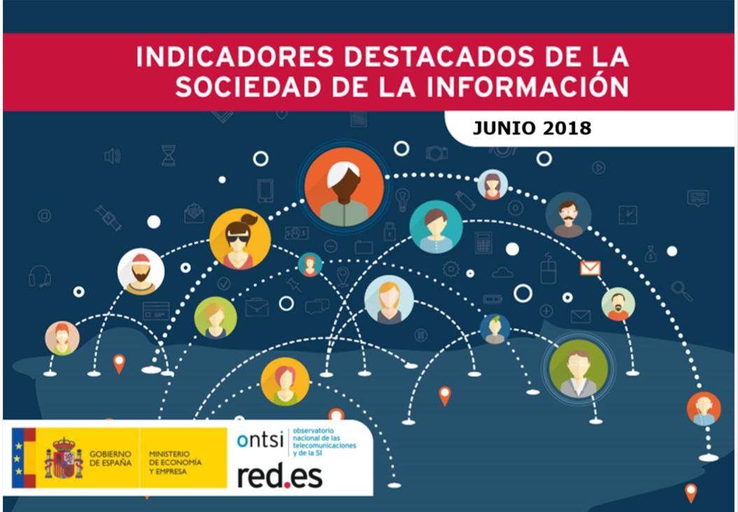 indicadores sociedad de la informacion junio 2018